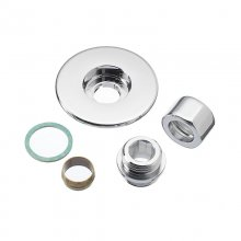 Mira inlet compression fittings - chrome (280.07)