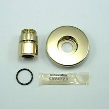 Mira inlet compression fittings - gold (410.48)