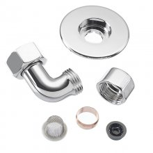 Mira inlet elbow set - chrome (802.38)