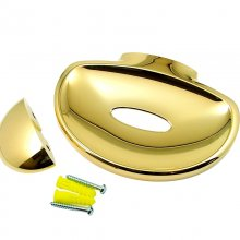 Mira Logic soap dish - gold (450.33)