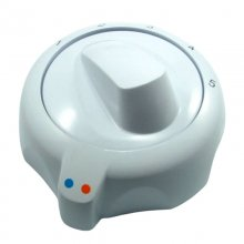Mira/Meynell control knob - manual - white (419.47)