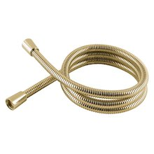MX 1.50m hi flow metal shower hose - gold (REB)