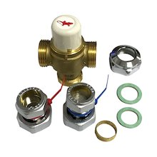 Salamander thermostatic temperature mixing valve (ACCHWSTMV)