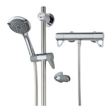 Triton Elina TMV3 Inclusive bar mixer shower and Grab riser rail (ELITHBMINC3)