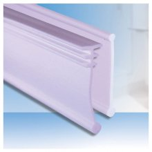 Unichannel shower screen seal for metal channels & folding bath screens (UC)