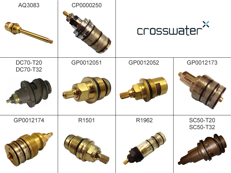 Crosswater Cartridges Shower Spares And Parts National