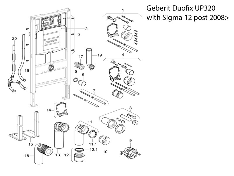 geberit duofix with sigma 12 cistern