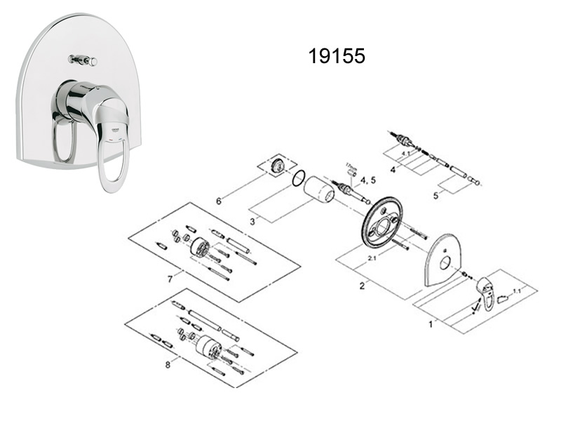 grohe shower installation instructions