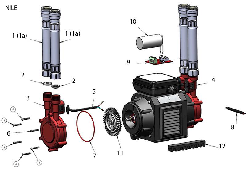 Grundfos Watermill Nile 1 5 Bar Single Impeller Pump