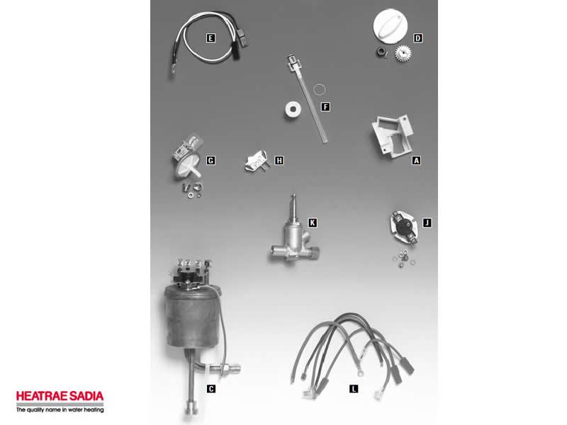Heatrae Sceptre Plus shower spares and parts | Heatrae Sceptre ...