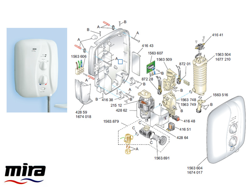 old mira sport shower manual