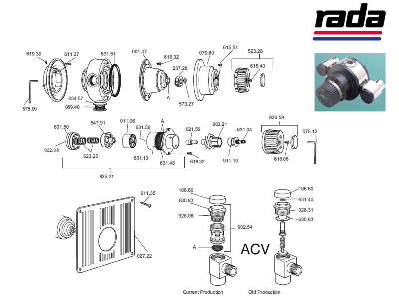 Rada Thermostatic Mixing Valve in addition  on honeywell prestige 2 0