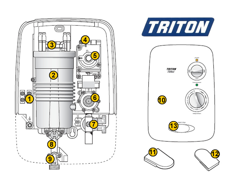 triton_t80si_t80si triton t80si shower spares and parts triton t80si national Electric Water Heater Wiring Diagram at mr168.co