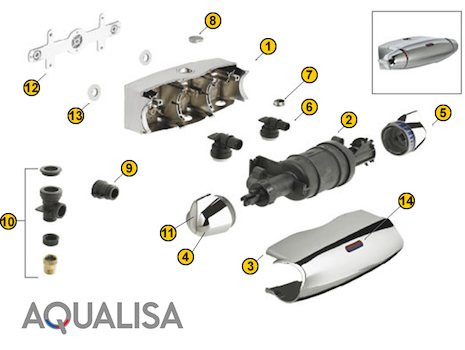 Aqualisa Shower Spares Aqualisa Spare Parts National