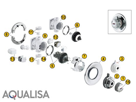 Aqualisa Mixer Showers Aqualisa Spare Parts National