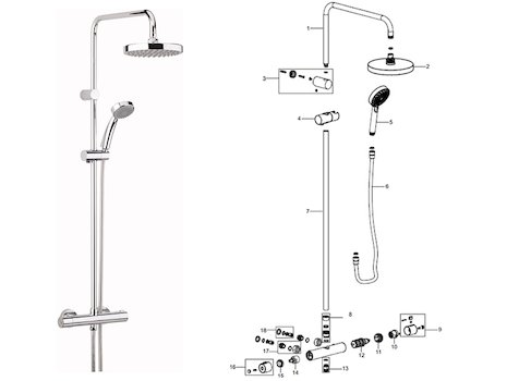 O Rings For Thermostatic Bar Mixer