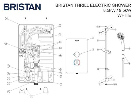 Jetted Tub Wiring in addition Triton pressure relief device prd 82800450 additionally House Foundation Types furthermore Bristan electric showers together with  on wiring diagram for 2 electric showers
