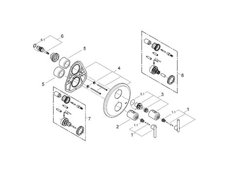 Grohe Shower Spares