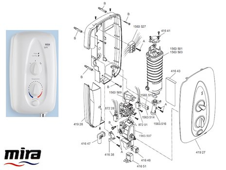 Mira Sport 10 5 Kw Electric Shower Mira Sport Max With