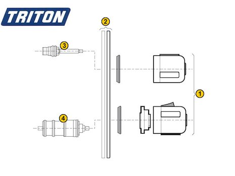 Triton Lima (Lima) spares breakdown diagram